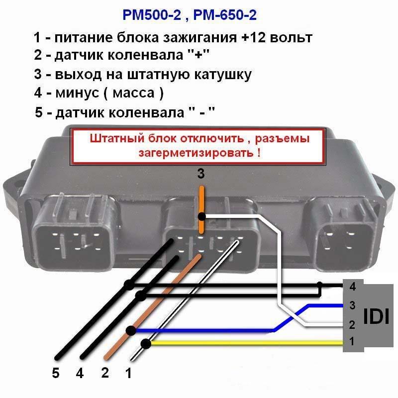 РМ500-2/РМ650-2,схема