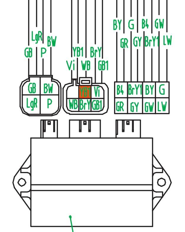 цвет провода судя по схеме